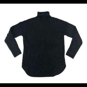 Gap Black Wool Turtleneck Sweater